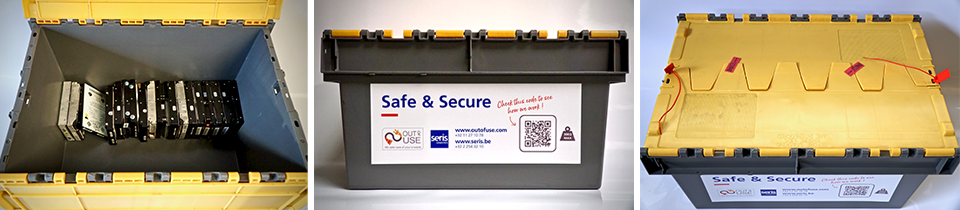 Développement d'une box de protection des données sensibles par SERIS Logistics et Out Of Use